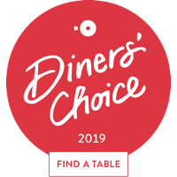 OpenTable Diners' Choice Award 2019